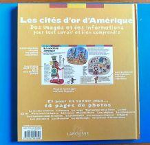 Les cités d'or d'Amérique - l'Encyclopédie Larousse pour les 6/9 ans