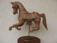 cheval bois de décoration
