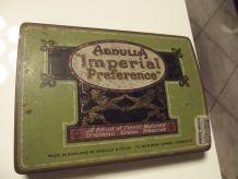 très ancienne boite à cigares
