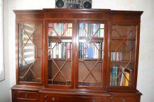 bibliothèque style anglais