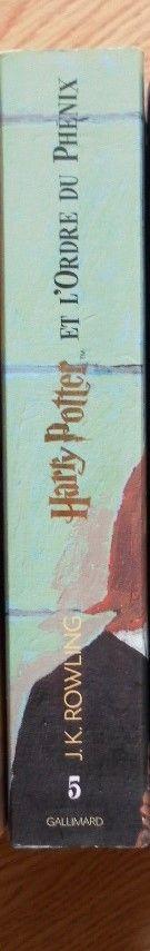 Livre Harry Potter et l'ordre du phoenix