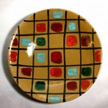Plat céramique 60s