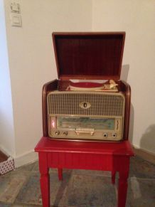 Radio platine disque teppaz années 50