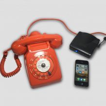 Téléphone S63 orange Bluetooth