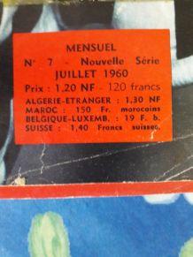 Miroir du football n°7 juillet 1960