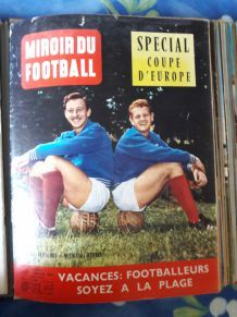 Mirroir du football n°8 juillet 1960