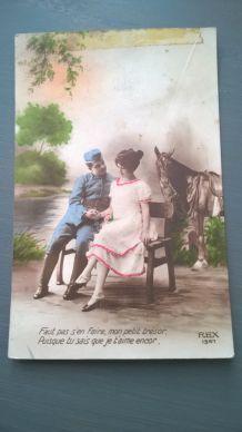 Lot de 15 cartes postales anciennes