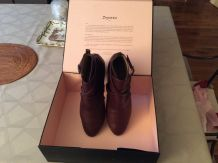 "Boots pour femme marron (pointure 40)""Repetto"