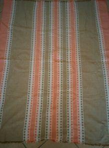 nappe ANCIENNE Catalane Basque  VINTAGE 1960-70 + 4 serviettes