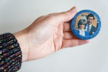Badge collector Prince Charles et Lady Diana
