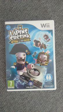 Jeu lapins crétins Wii