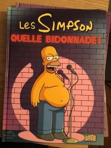 "Lot de 5 BD ""Les Simpsons"" (1,2,3,4,5)"