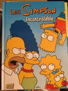 Lot de 5 BD Simpson (16,18,19,21,26)