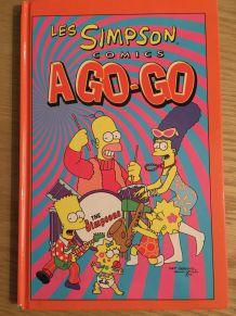 """Lot de 5 BD """"Les Simpsons"""" petit format"""