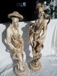 statuettes chinoises