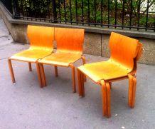 Chaises de conférence design 1960