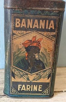 Ancienne publicitaire banania