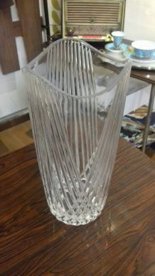 Vase en cristal -'70