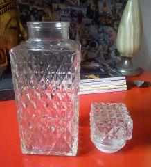 Carafes à whisky en verre  - Vintage