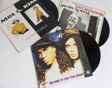 vinyles Mel&Kim, Milli Vanilli et Jimmy Somerville