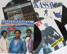 lot vinyles Preset, Gibson Brothers, Gregory Isaac, Kassav