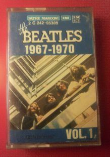 Cassette audio - The Beatles 1967-1970 vol 1