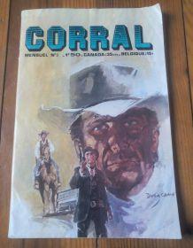 Corral mensuel n•3 - 1970 - vintage