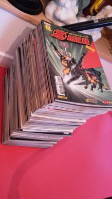 "LOT COMPLET REVUE ""ASTONISHING X-MEN"" PANINI COMICS FRANCE"