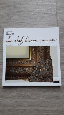 """Livre """"Le chef d'oeuvre inconnu"""" de Honoré de Balzac"""