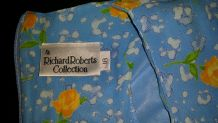 "Robe grande taille fleuri liberty ""Richard Roberts collection"" T 44/46"