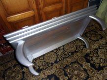 Table basse de salon relookée