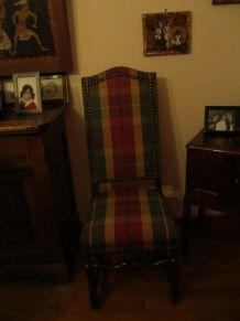6 chaises pied de mouton