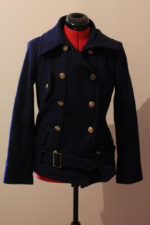 Manteau bleu femme T38