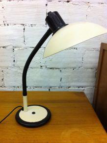Lampe de bureau  métal couleur ivoire