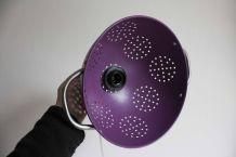 abat-jour passoire violet