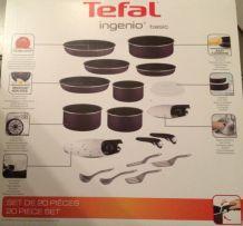 Lot de 20 pièces TEFAL ingenio basic