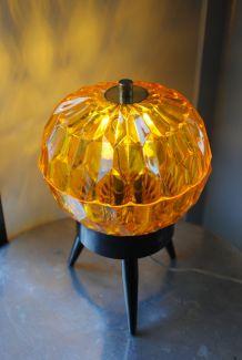 Lampe tripode année 70 vintage