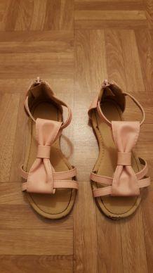 sandales roses 30