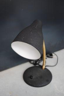 Lampe bureau cocotte noir vintage