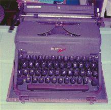Machine à ecrire Hermes