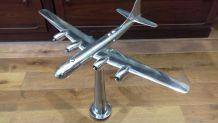 Sculpture en Acier polis Boeing B 29