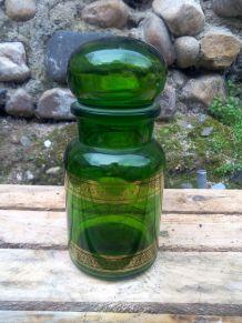 Pots d'apothicaire en verre - vintage