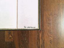 Table basse de Roger Capron 1960