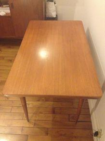Table Vintage en bois teck