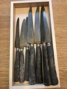 Lot de 39 couteaux anciens (fin XIXè - début XXè)