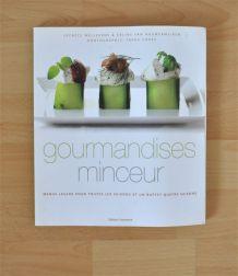 """Grand livre """" Gourmandises Minceur """" de  Lucrece Wellekens"""
