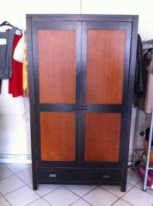 Armoire 2 portes 1 tiroir