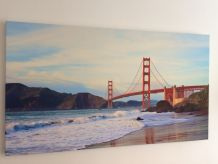 Tableau Photo sur toile Golden Gate