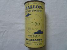 """boite  en fer """" ballon  meteo"""""""