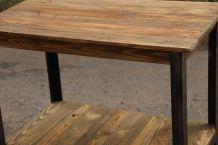 Table Artisan Acier/Bois